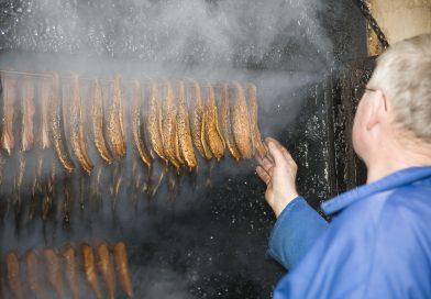 Røg i ovnen er gode tegn