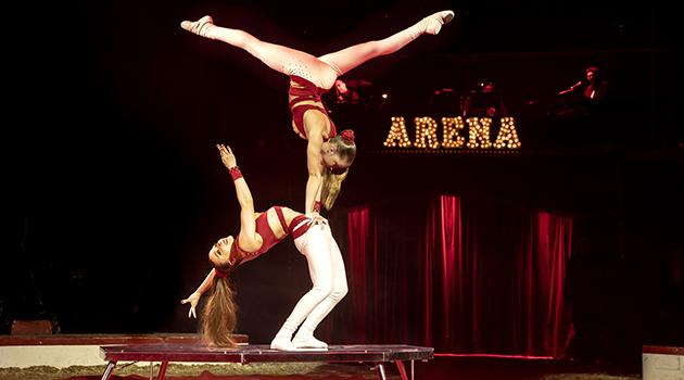 Cirkus i verdensklasse på fredag