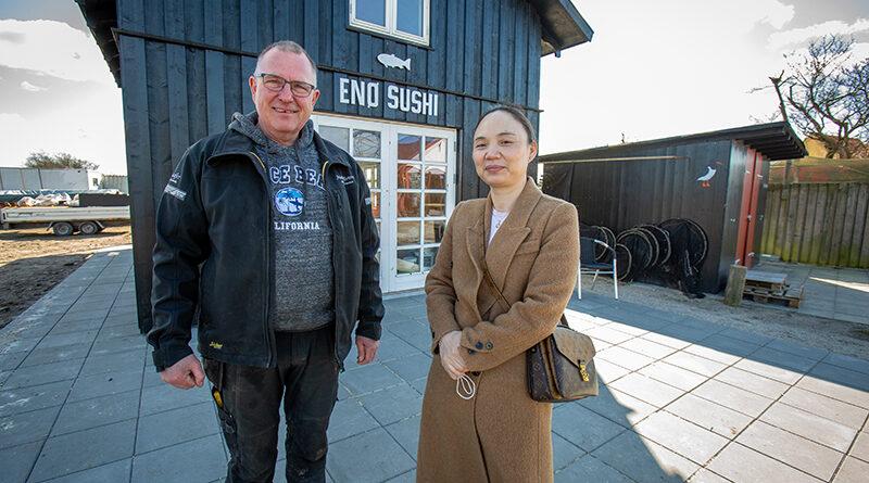 """Fru Yang vil servere sushi på """"Stejlepladsen"""""""