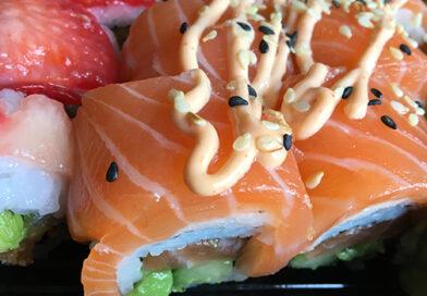 Så er der serveret på Enø Sushi
