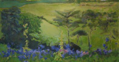 Landskabsmalerier på museet i efterårsferien